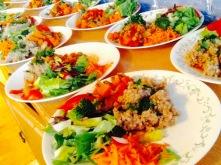 Tajine de legumes et de sarrasin