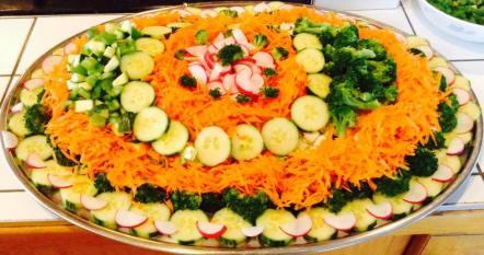 Plateau de salade